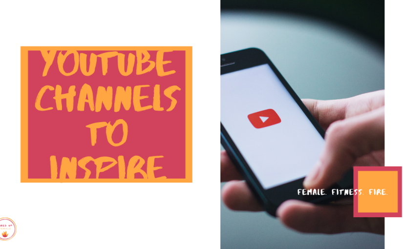 TOP 6 YouTube CHANNELS TO INSPIRE